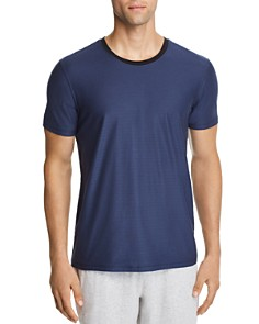 Daniel Buchler Lounge Short-Sleeve Tonal Striped Tee - Bloomingdale's_0