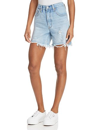 Levi's - Indie Distressed Denim Shorts in Clean Break