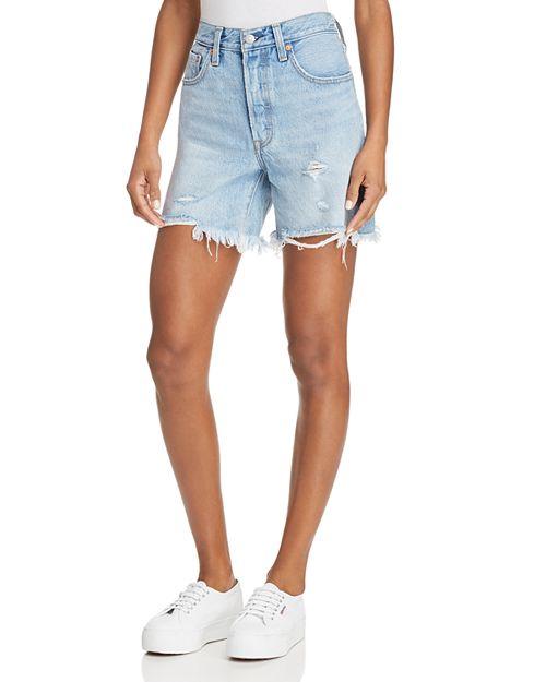 Levi's - Indie Distressed Denim Shorts in Clean Break