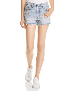 Levi's 501 Denim Shorts in Waveline