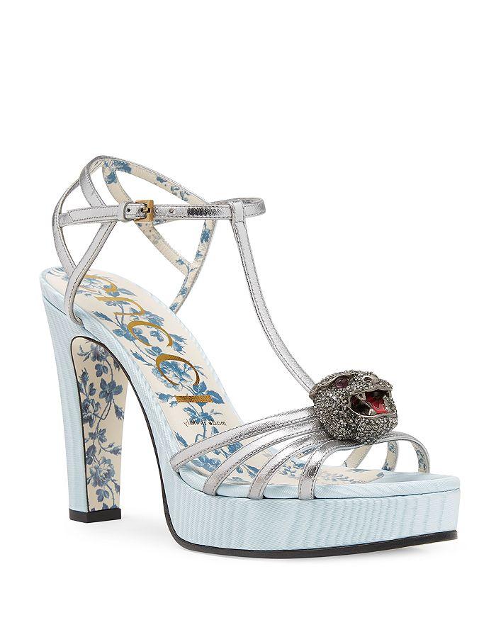 Gucci - Women's Elias T-Strap Platform Sandals