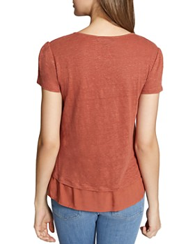 Sanctuary - City Mix Layered-Look Tee