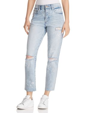 PISTOLA HIGH-RISE ASTROLOGY STRAIGHT-LEG JEANS IN WHAT'S YOUR SIGN