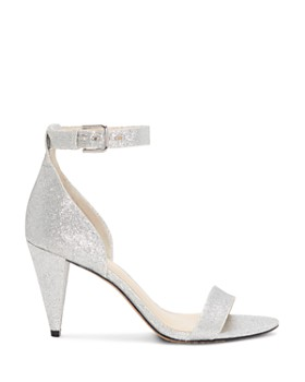 VINCE CAMUTO - Women's Cashane Shimmer Ankle Strap Sandals