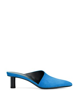 Via Spiga - Women's Freya Pointed Toe Cylinder-Heel Slide Mules