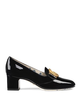 Gucci - Women's Double G Mid-Heel Pumps