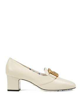 Gucci - Women's Double G Mid-Heel Pumps