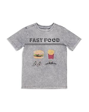 Butter Boys MineralWash Fast Food Tee  Big Kid