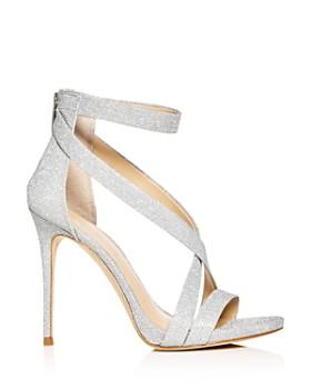 Imagine VINCE CAMUTO - Women's Devin Glitter Ankle Strap High-Heel Sandals