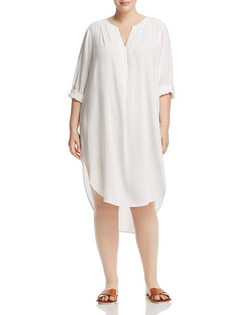 Cupio Plus - High/Low Tunic Dress