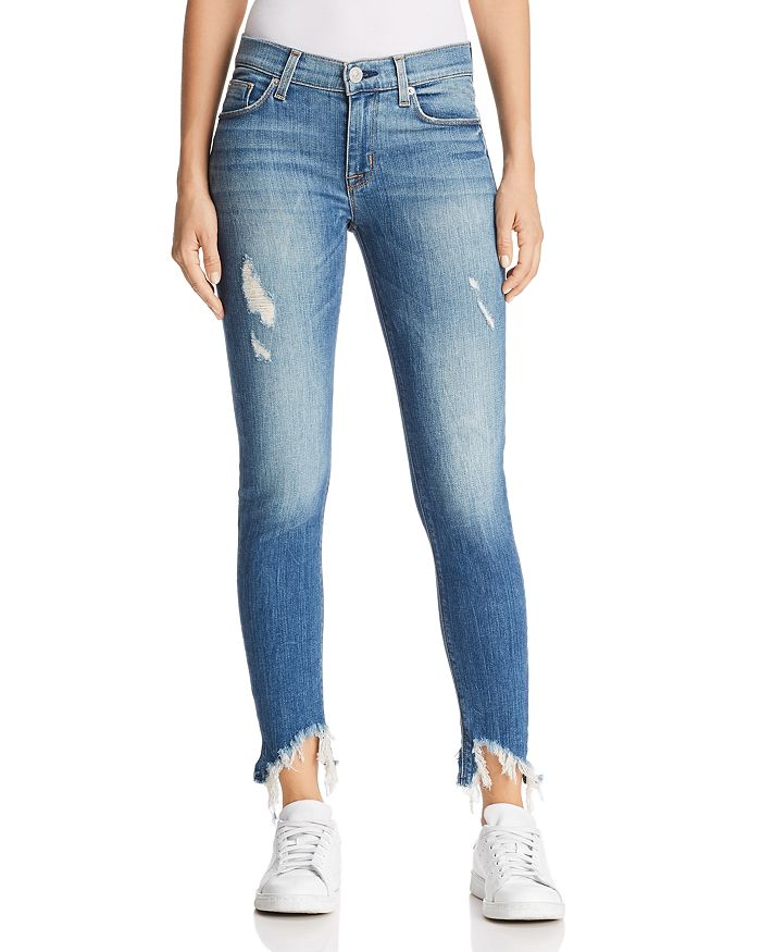 Hudson - Nico Crop Skinny Jeans in Bite Back