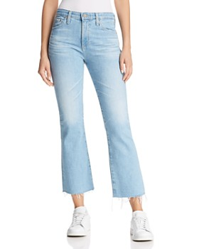 AG - Jodi Crop Flared Jeans in 23 Years Sunbeam
