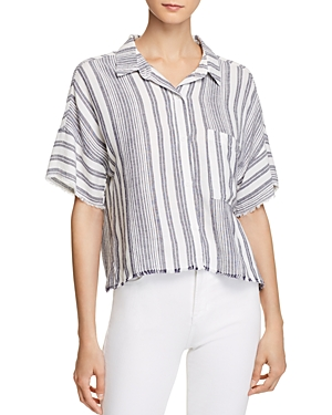Bella Dahl Stripe Camp Shirt