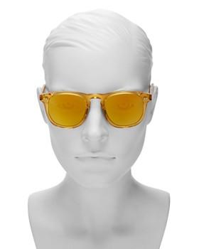Chimi - Women's Mango #001 Mirrored Round Sunglasses, 47mm