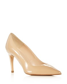 Bloomingdale's - Women's Margo Italian Patent Leather Pointed Toe Pumps - 100% Exclusive