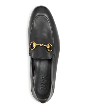ac5a3a3f4 ... Gucci - Men's Brixton Leather Apron Toe Loafers