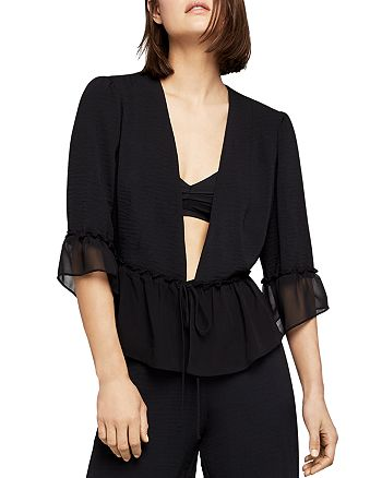 BCBGENERATION - Chiffon-Trim Jacket