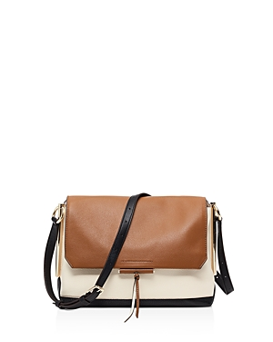 Sandro Bia Leather Crossbody