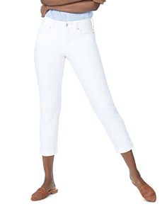 NYDJ - Slim Boyfriend Jeans in Optic White