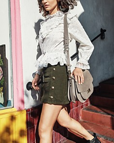 The Kooples - Emily Maxi Leather Saddle Bag