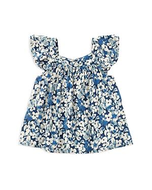 Polo Ralph Lauren Girls Challis Floral Top  Little Kid