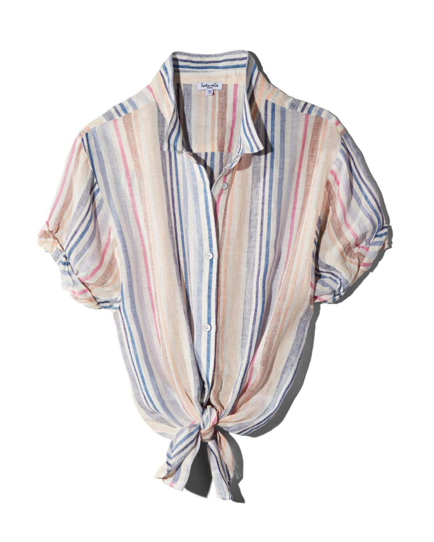 Striped Boyfriend Shirt by Splendid