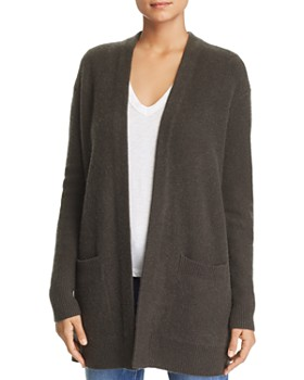 C by Bloomingdale's - Pocket Cashmere Cardigan - 100% Exclusive