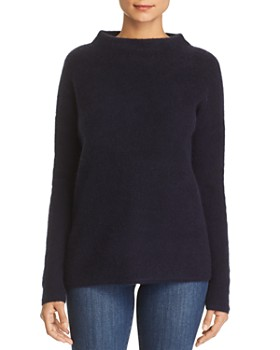 C by Bloomingdale's - Funnel Neck Cashmere Sweater - 100% Exclusive