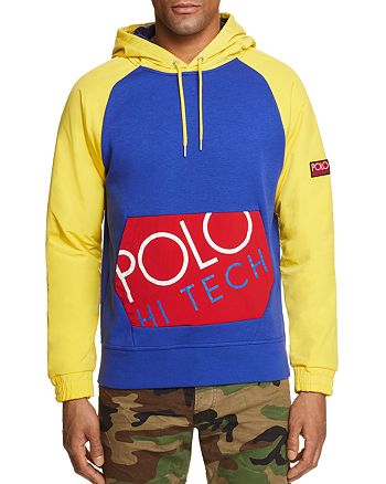 be17efbcf Polo Ralph Lauren - Polo Hi Tech Hybrid Color-Block Sweatshirt - 100%  Exclusive