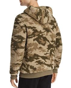 ATM Anthony Thomas Melillo - Camouflage-Print Sherpa Hooded Sweatshirt
