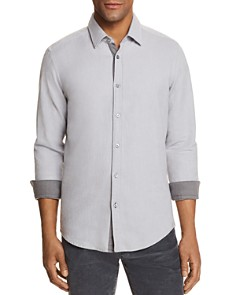 BOSS - Lukas Contrast-Trim Shirt