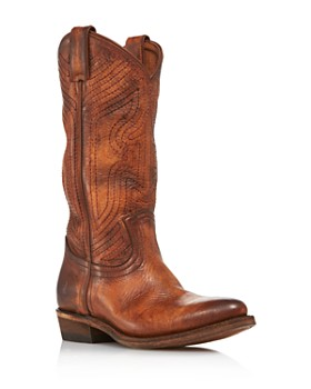 Frye - Women's Billy Tall Embroidered Leather Western Boots - 100% Exclusive