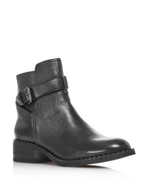 GENTLE SOULS BY KENNETH COLE Gentle Souls Women'S Best Leather Moto Booties - 100% Exclusive in Black