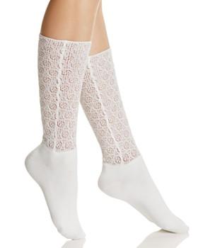 Natori - Open-Knit Crew Socks