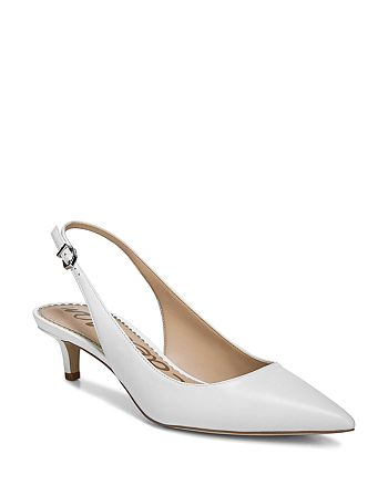 Sam Edelman - Women's Ludlow Dress Nappa Leather Slingback Pumps