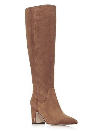 8ee2c6409 Sam Edelman Women s Hai Suede Tall Boots - 100% Exclusive ...