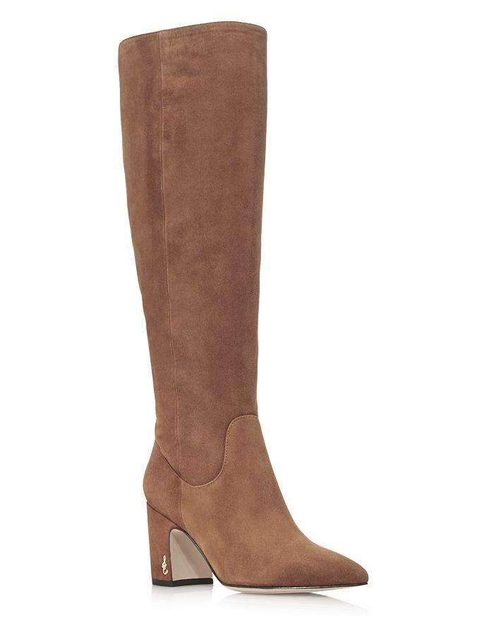 Sam Edelman - Women's Hai Suede Tall Boots - 100% Exclusive