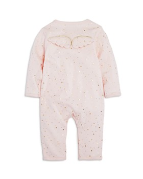 Albetta - Girls' Metallic Star Print Coverall with Angel Wings, Baby - 100% Exclusive