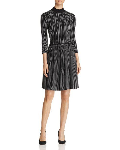 Emporio Armani - Patterned A-Line Dress