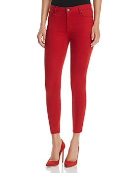 Parker Smith - Ava Crop Skinny Jeans in Ruby