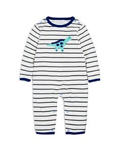 Albetta - Boys' Crochet-Dino Striped Coverall, Baby - 100% Exclusive