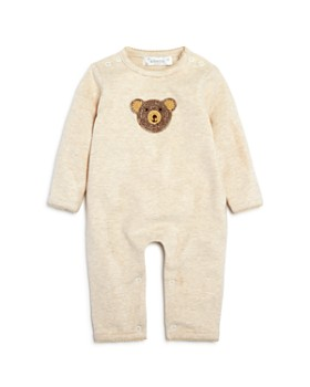 Albetta - Unisex Crochet Teddy Bear Striped Coverall, Baby - 100% Exclusive