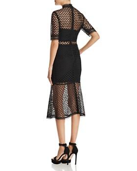 Bardot - Fiona Mesh Midi Dress