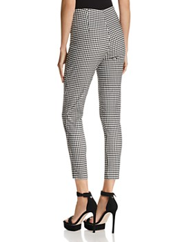 Lucy Paris - Madeline Gingham Skinny Pants