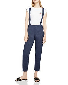 c486e66f38 BCBGENERATION - Chambray Suspender Pants ...