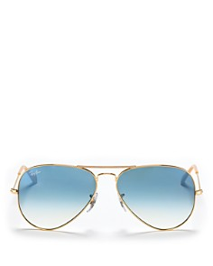 Ray-Ban Aviator Sunglasses, 58mm - Bloomingdale's_0