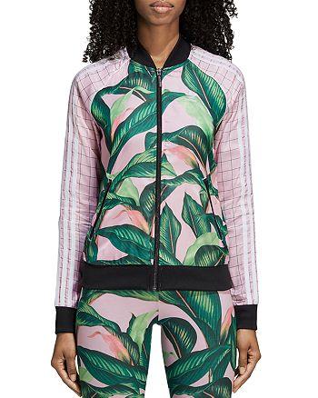 adidas Originals Palm Print Track Jacket | Bloomingdale's