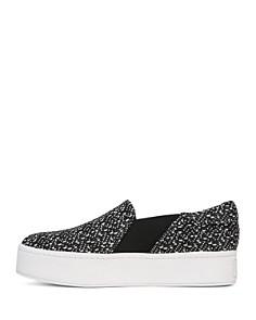 Vince - Women's Warren Knit Platform Sneakers