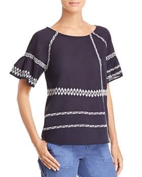Joie - Shoffie Embroidered Top