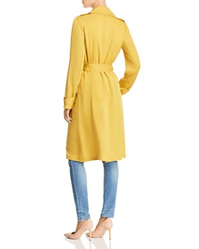 Theory - Oaklane Silk Trench Coat